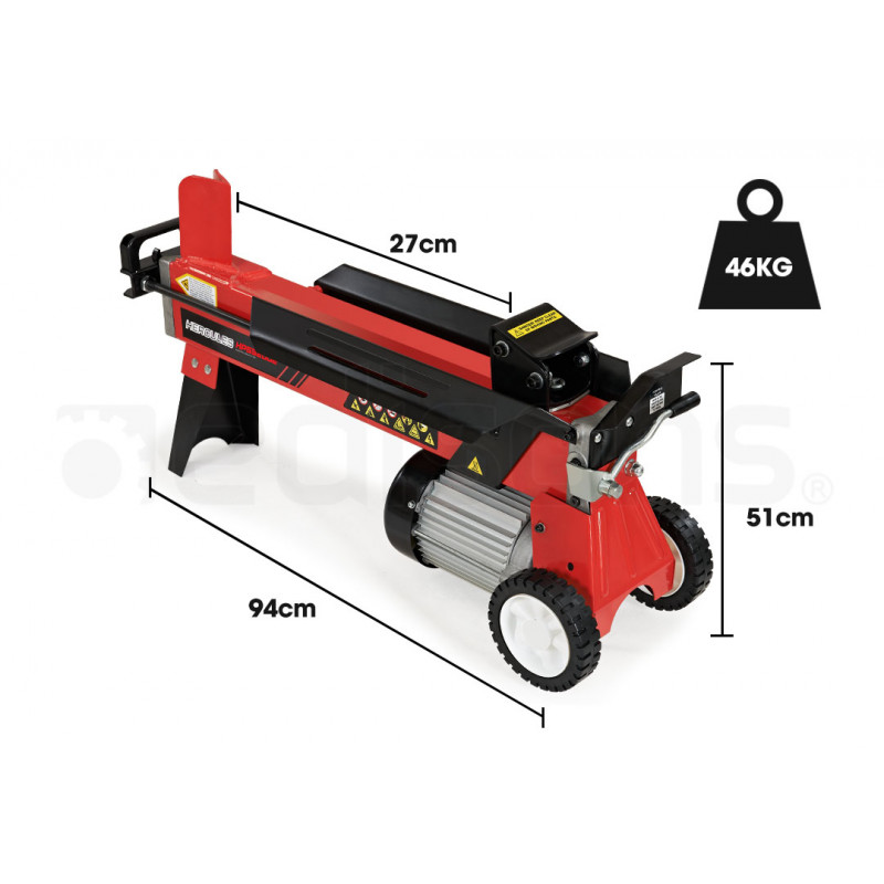 BAUMR-AG 9 Ton Hydraulic Electric Wood Log Splitter by Baumr-AG