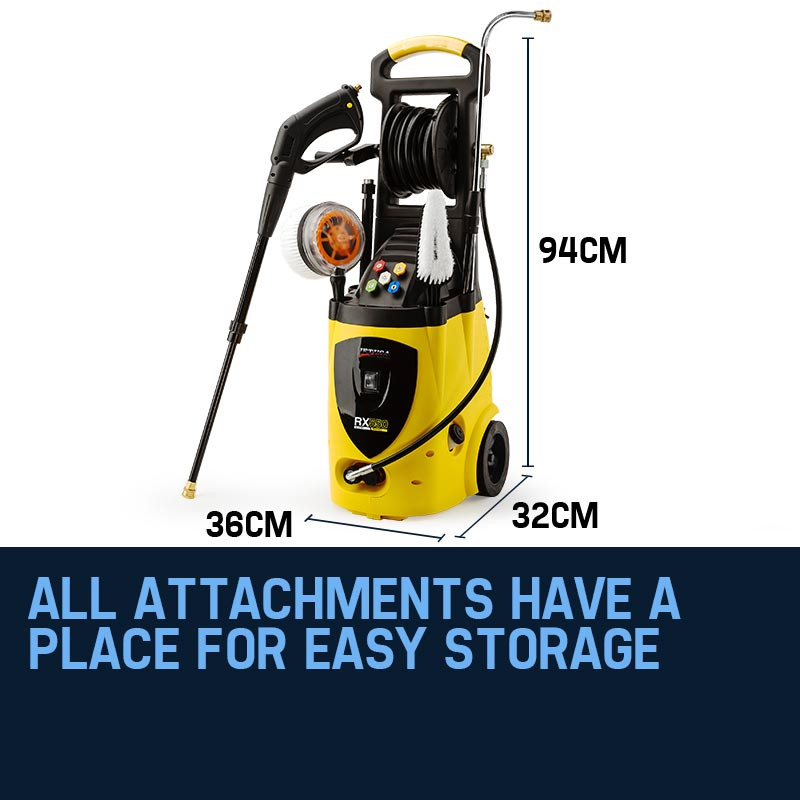 Jet-USA 3800PSI Electric High Pressure Washer- RX550 by Jet-USA