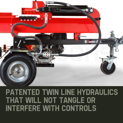 Baumr-AG  65 Ton Hydraulic Petrol Log Splitter- Hercules HPS800 by Baumr-AG