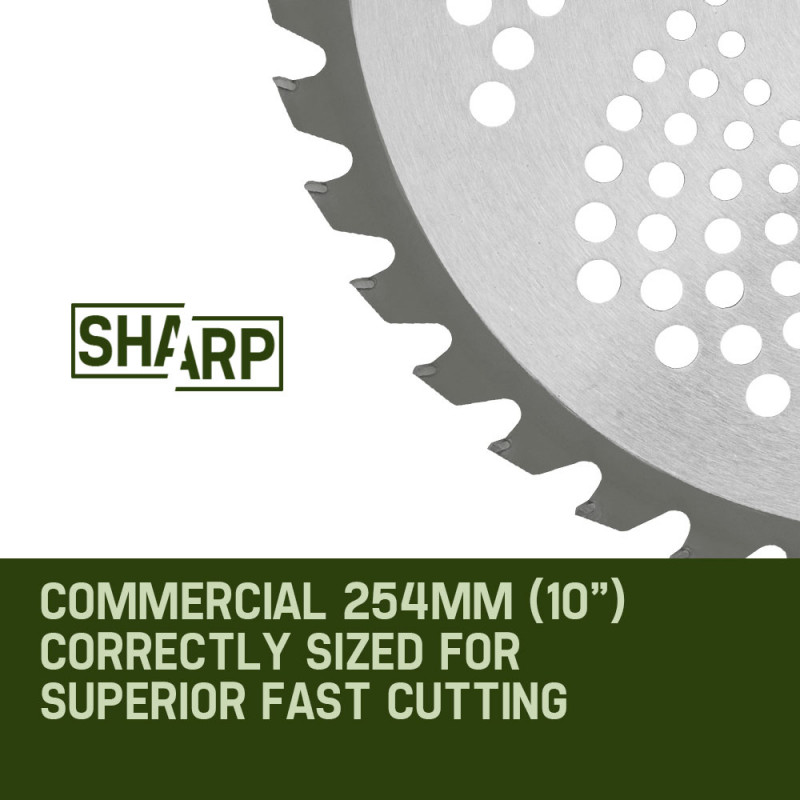 MTM Carbide Tipped 40 Tooth Brush Cutter Blade Whipper Snipper Brushcutter by MTM