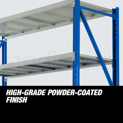 Baumr-AG 3 x 1.5M x 2M 2000KG Metal Warehouse Racking Storage Garage Shelving Shelves by Baumr-AG