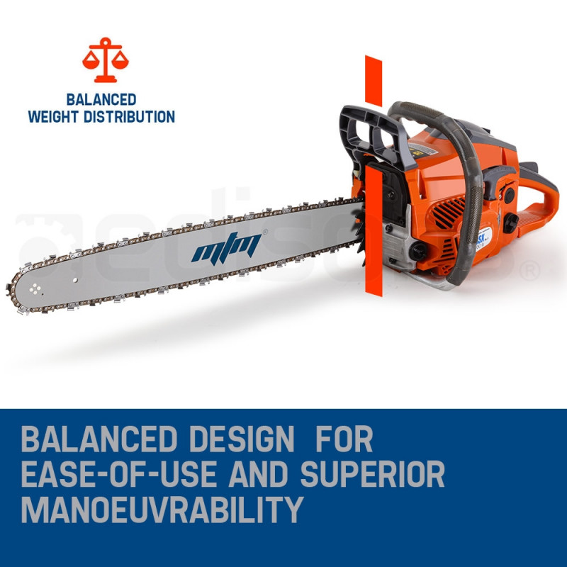 "MTM 20"" E-Start Commercial Petrol Chainsaw- 58SX Mark II by MTM"