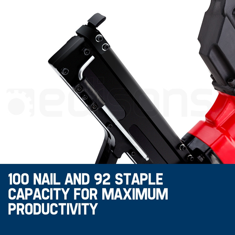 UNIMAC Pneumatic Flooring Nailer Staple Gun Floor Gas Nail Cleat Stapler by Unimac