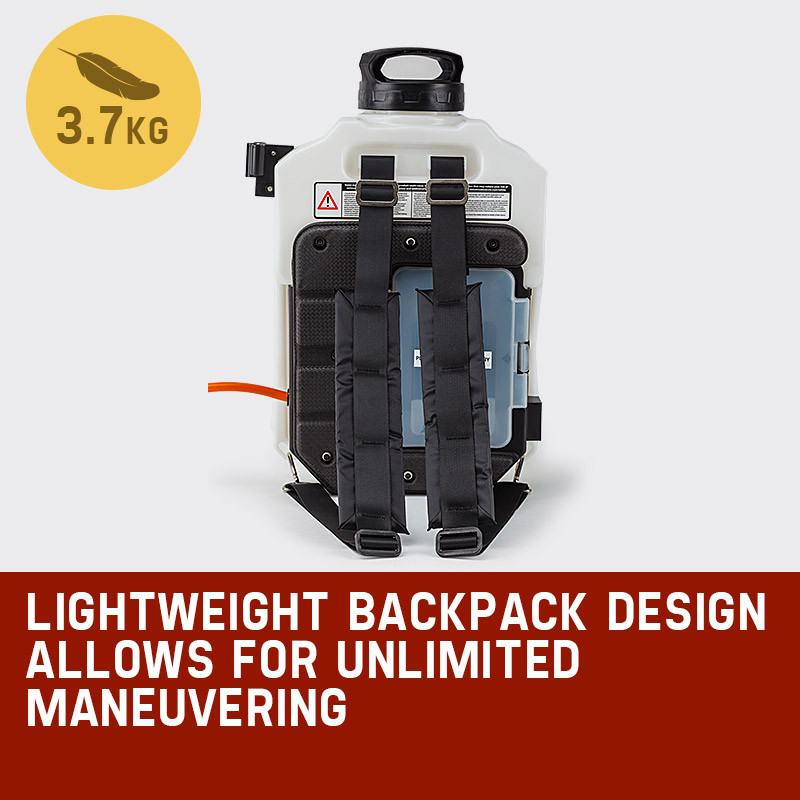 PROTEGE 15L Garden Weed Sprayer Multifunction Backpack Fertilizing Watering Farm by Protege