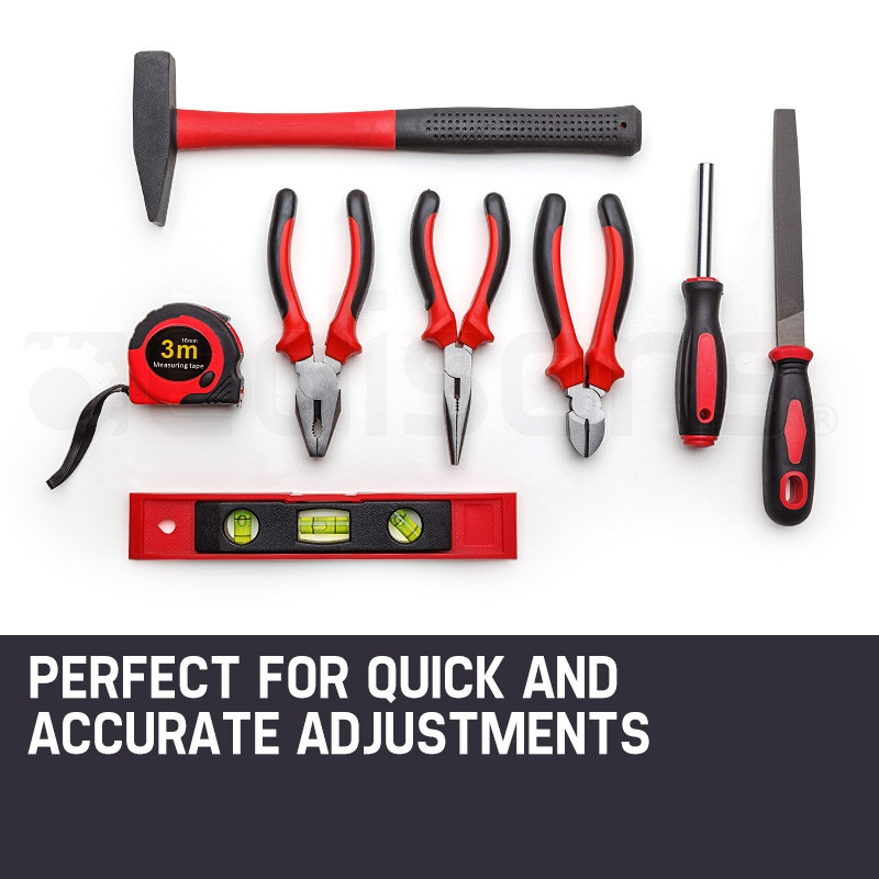 BULLET 118pc Tool Box Kit Set Cantilever Toolbox Drill Sockets Wrench Spanners by Bullet Pro