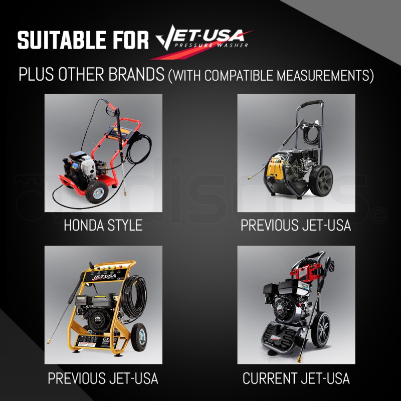 Jet-USA High Pressure Washer Cleaner Replacement Pump for all brand models with 3/4 Inch Shaft by Jet-USA
