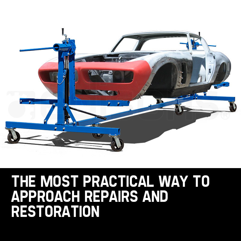 T-REX Car Rotisserie Hydraulic Auto Body Frame Truck Boat Repair Restoration by T-Rex
