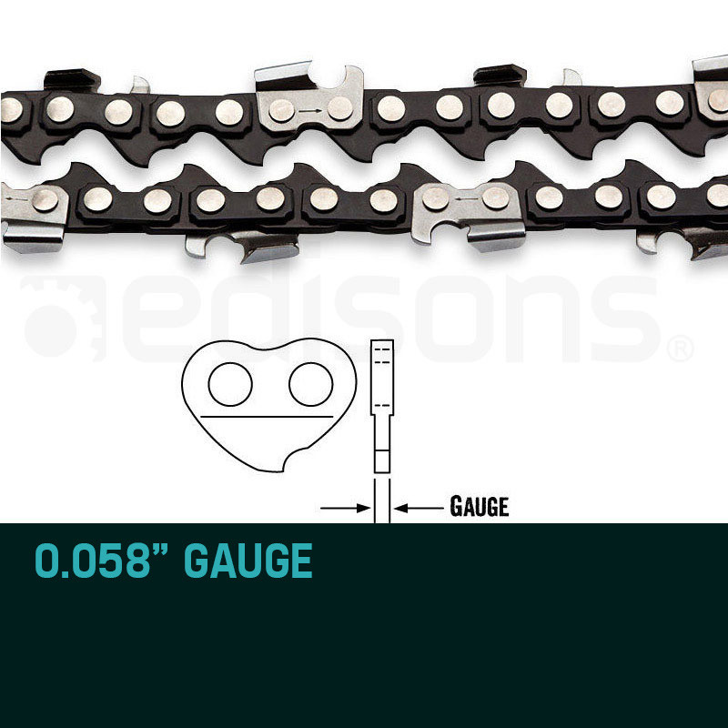 "2 X 20"" Baumr-AG Chainsaw Chain 20in Bar Replacement Suits 62CC 66CC Saws by Baumr-AG"