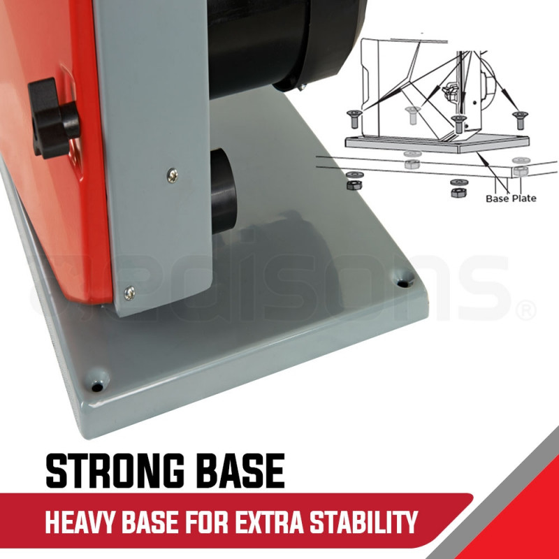 Baumr-AG Bandsaw Wood Cutting Band Saw Portable Wood Vertical Benchtop Machine by Baumr-AG
