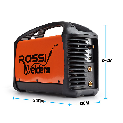 ROSSI Welder Inverter ARC 200Amp Welding Machine DC iGBT Stick Portable by Rossi