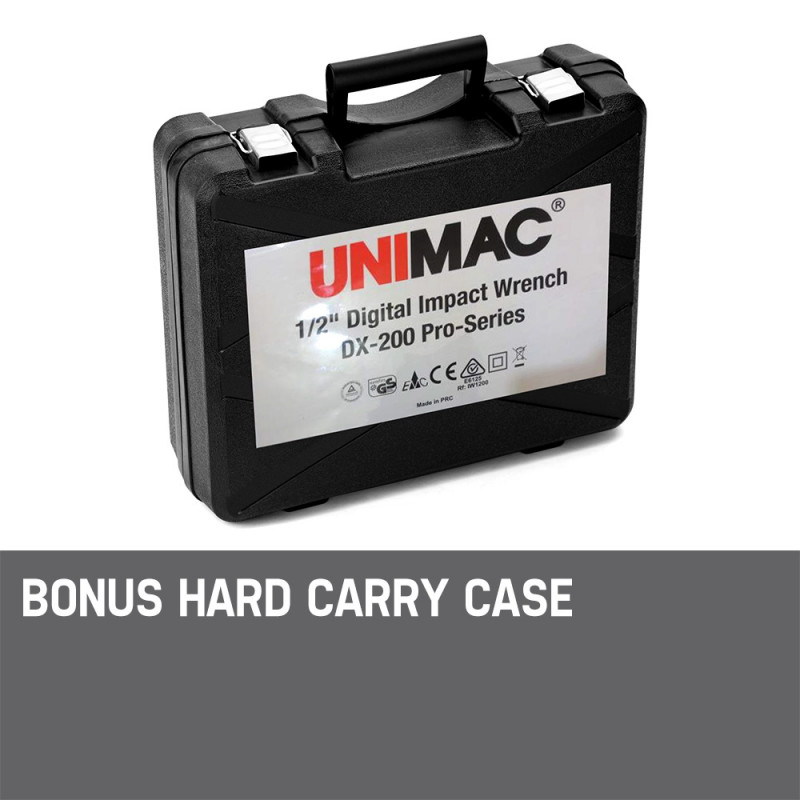UNIMAC Impact Wrench Rattle Torque Gun Power Tool Ratchet Electric Corded Power by Unimac