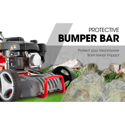 "BAUMR-AG 18"" 175cc Self-Propelled 4-Stroke Petrol Steel Deck Lawnmower- 740SX by Baumr-AG"
