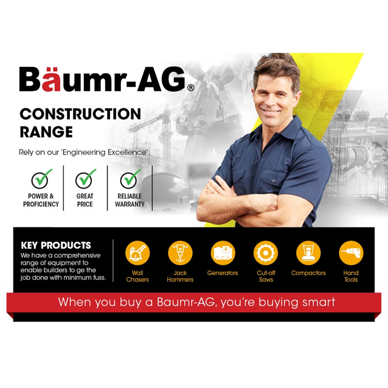 """8 x BAUMR-AG 5"""" Replacement Diamond Blades for Wall Chaser Machines by Baumr-AG"""