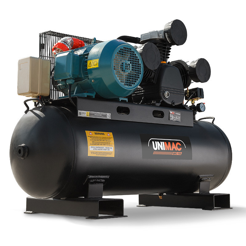 UNIMAC Industrial Electric Air Compressor 115PSI 150L 7.5kW 3 Phase by Unimac