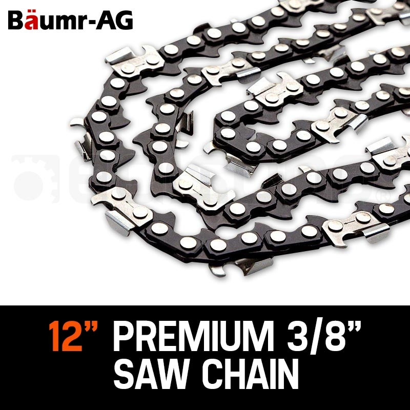 "Baumr-AG 12"" Chainsaw Chain 12in Bar Spare Part Replacement Suits Pole Saws by Baumr-AG"