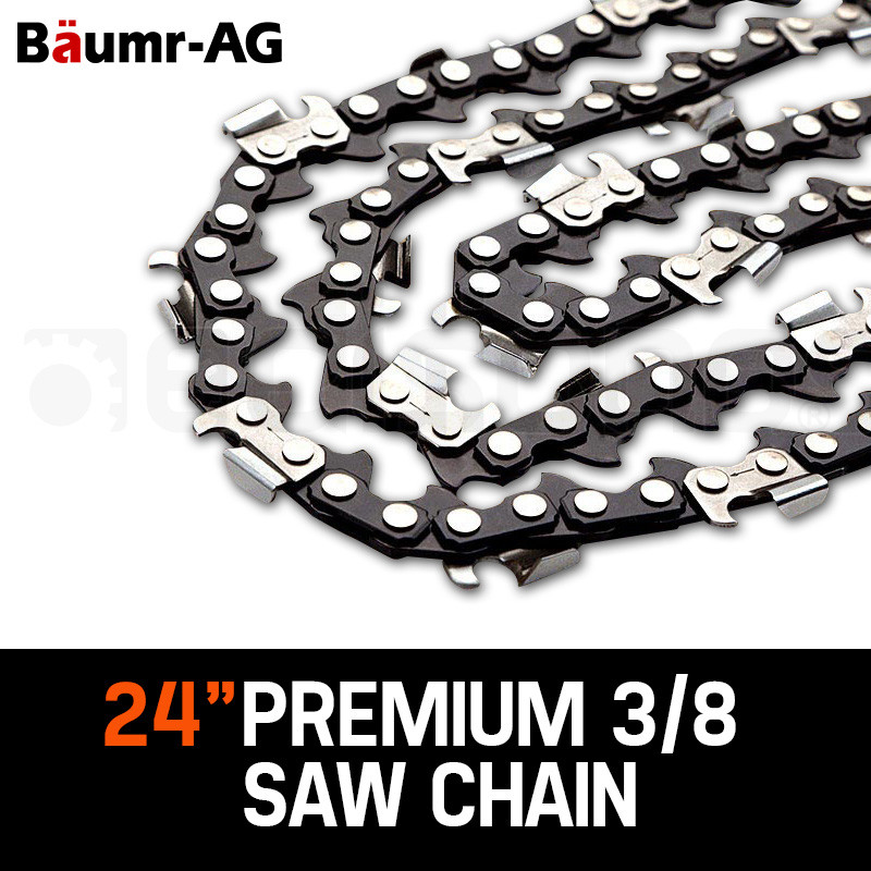 """2 X 24"""" Baumr-AG Chainsaw Chain 24in Bar Replacement by Baumr-AG"""