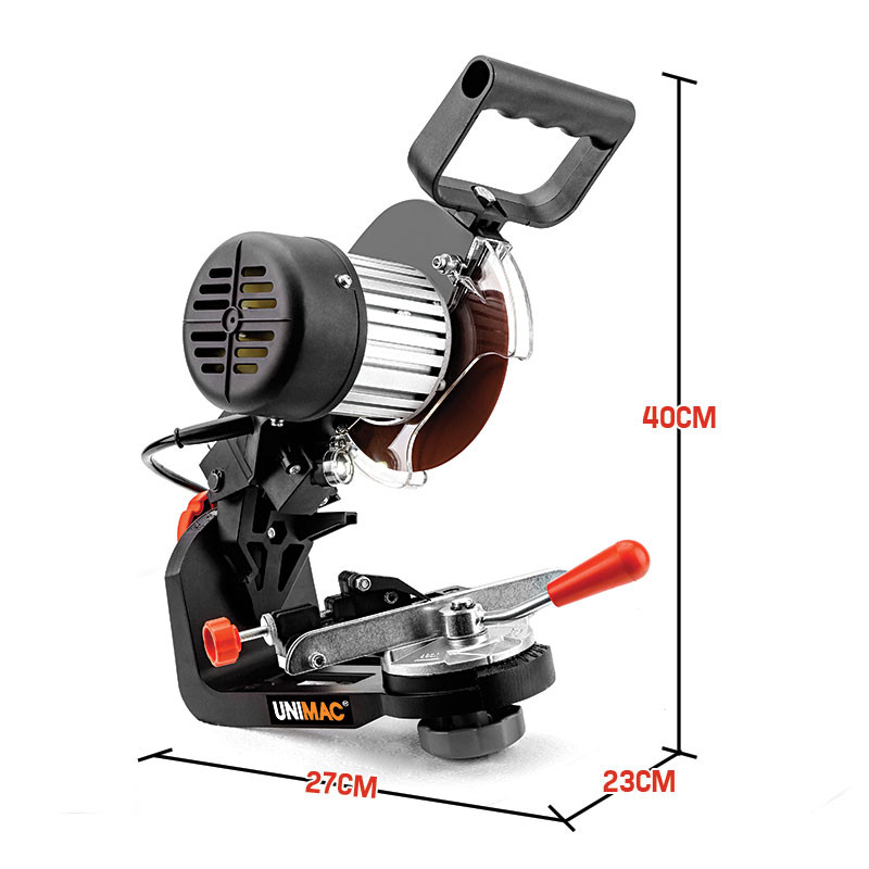Unimac 350W 3000RPM Commercial Electric Chainsaw Sharpener and Grinder by Unimac