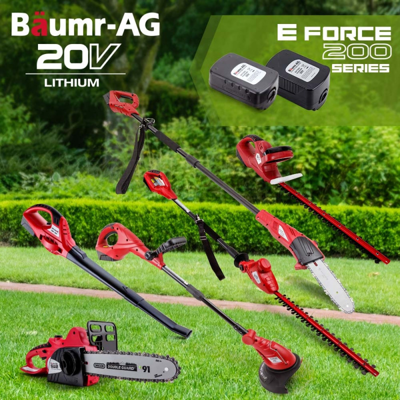 Baumr-AG 20V Lithium-Ion Pole Chainsaw Tool Cordless Battery Electric Saw Pruner by Baumr-AG