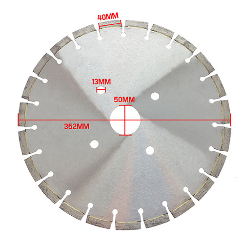 Concrete Saw Replacement Blade - MKII by Parts