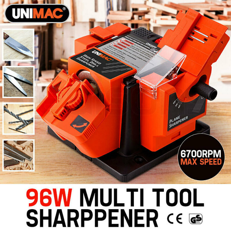 UNIMAC 96W Electric Multi Function Tool Sharpener for Drill Bits Knife Scissors Chisel						 by Unimac
